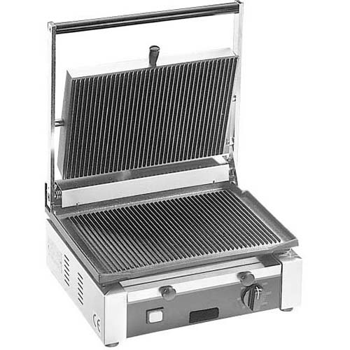 Trustworthy Cecilware Panini Sandwich Grill Single Grooved Product Photo