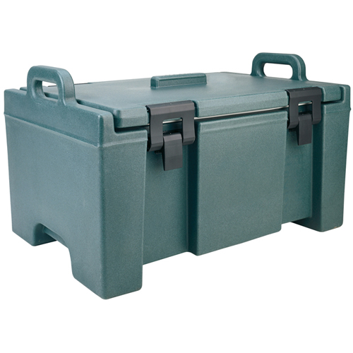 Stylish Cambro Insulalted Food Pan Carrier Upc Slate Blue Product Photo