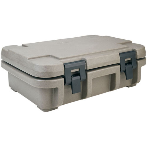 Valuable Cambro Upc Insulated Food Pan Carrier Fits One Full Size Deep Pan Granite Sand Recommended Item