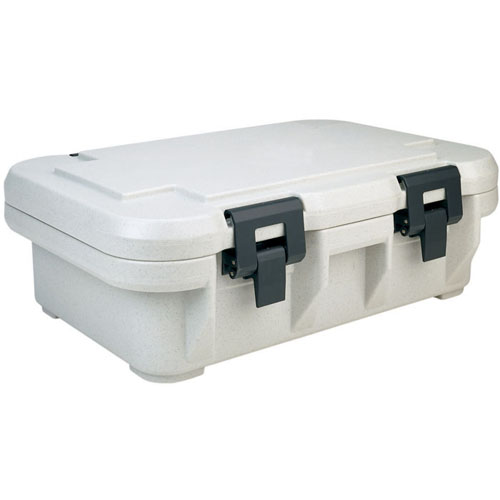 User friendly Cambro Upcs Insulated Food Pan Carrier fits One Full Size Deep Pan Speckled  Product Photo
