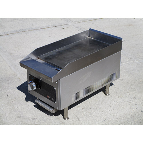 Anvil FTG9012 Commercial Flat Top Gas Griddle, Great Condition