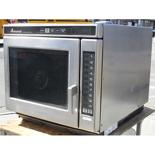Pretty Amana Commercial Microwave Oven Rcs Great Condition Product Photo