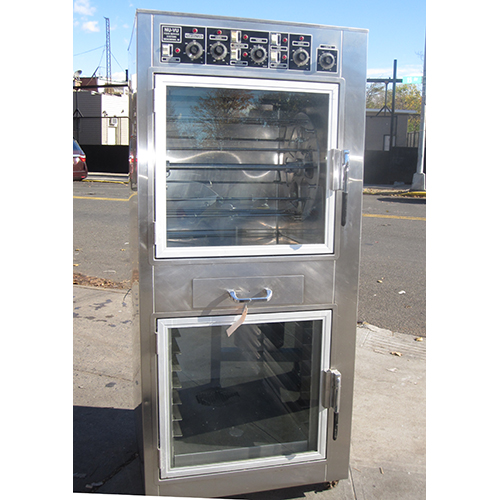 Nu-Vu Rotisserie- Warmer Model RTS-MA6W Used Excellent Condition RTS-MA6W