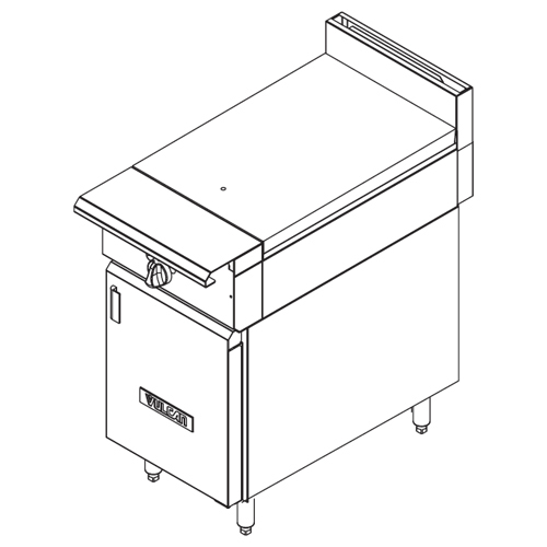 Vulcan-Heavy-Duty-Gas-Range-Full-Hot-Top-Cabinet-Base Product Image 642
