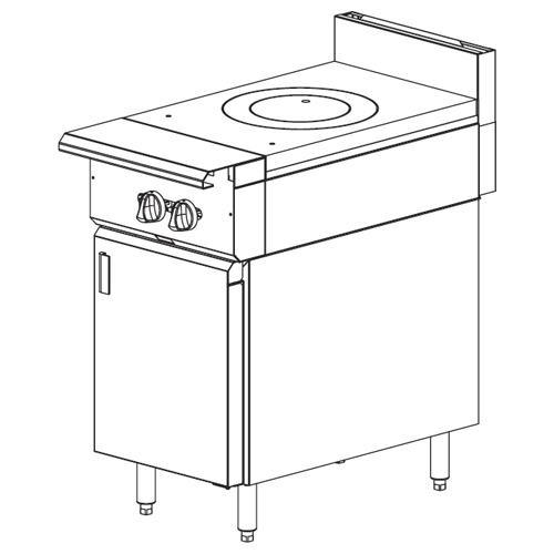 Vulcan-Heavy-Duty-Gas-Range-French-Top-Cabinet-Base Product Image 533
