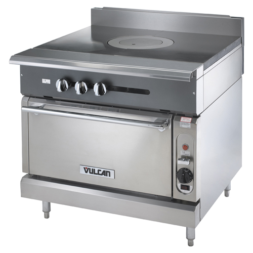 Excellent Vulcan Heavy Duty Gas Range Single French Top Standard Oven Product Photo