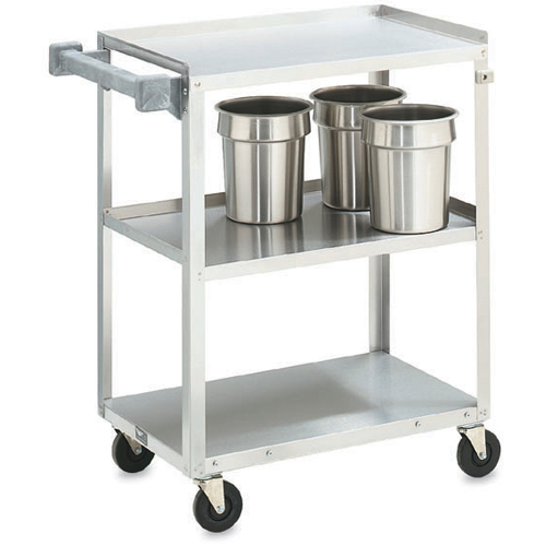 Vollrath Stainless Steel Utility Cart, 27-1/2 L x 15-1/2 W x 32-5/8 H 97120