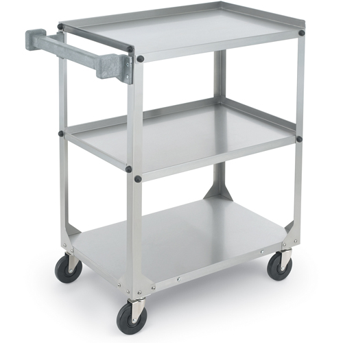 """Vollrath Stainless Steel Utility Cart, 30-7/8"""" L x 17-3/4"""" W x 33-3/4"""" H 97121"""