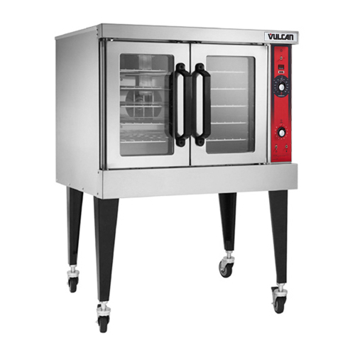 Lovable Vulcan Single Deck Nat Gas Convection Oven Computer Controls Product Photo
