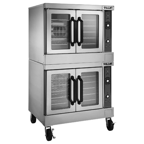 Outstanding Vulcan Double Deck Electric Convection Oven Computer Controls Product Photo