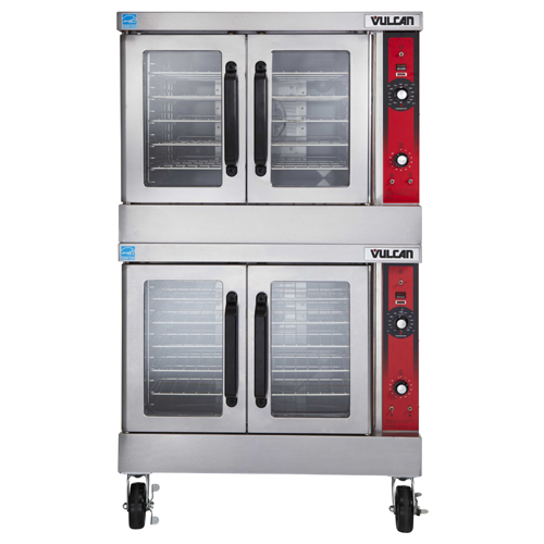 Vulcan Double Deck Nat Gas Convection Oven Computer Controls Product Photo