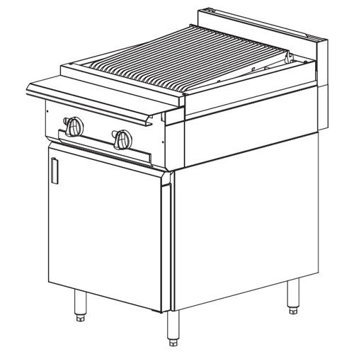 Vulcan-Heavy-Duty-Gas-Range-Charbroiler-Cabinet-Base Product Image 79