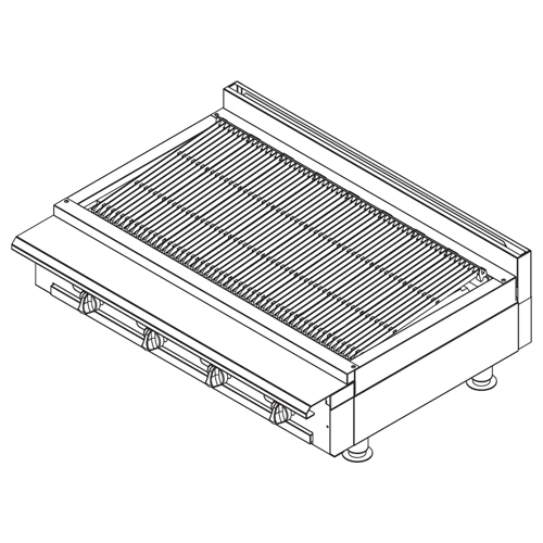 Vulcan-Vulcan-Heavy-Duty-Gas-Range-Charbroiler Product Image 318