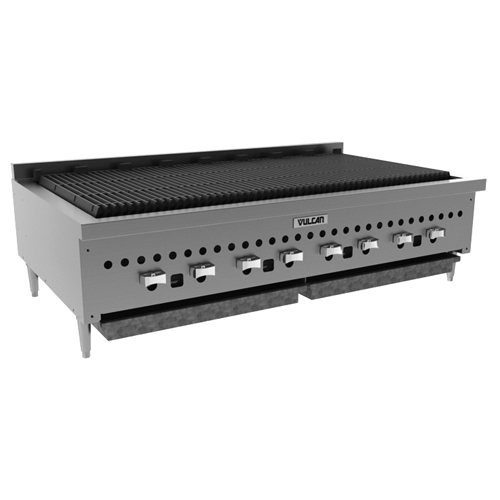 Longstanding Vulcan Vccb Counter Model Gas Charbroiler Natural Gas Product Photo