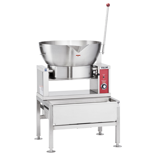 Vulcan Round Electric Tilting Braising Pan Gal Product Photo