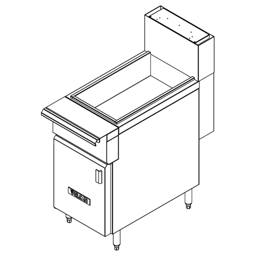 Vulcan-Heavy-Duty-Fryer-Dump-Station Product Image 1005
