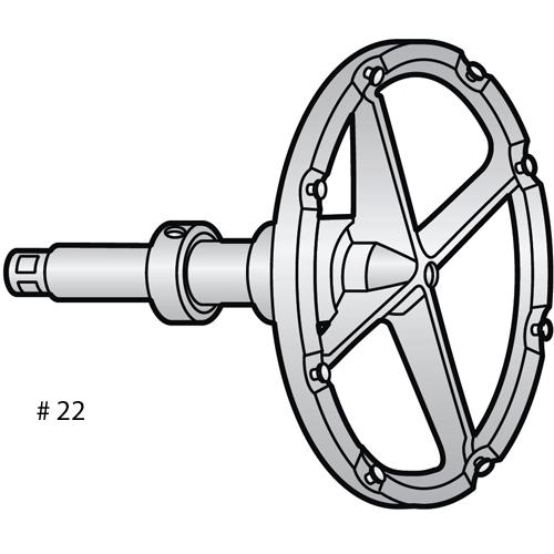 Alfa Disc Holder for Grater/Shredder Attachment OEM # ML-16226-Z VS-22DH