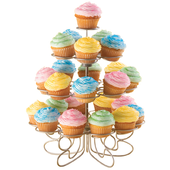 Wilton 307-250 Cupcakes 'N More 24 Count Mini Dessert Stand / Tower 307-250