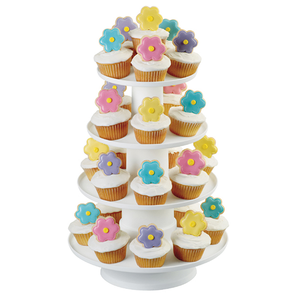 Wilton 4-Tier Dessert / Cupcake Tower 307-856
