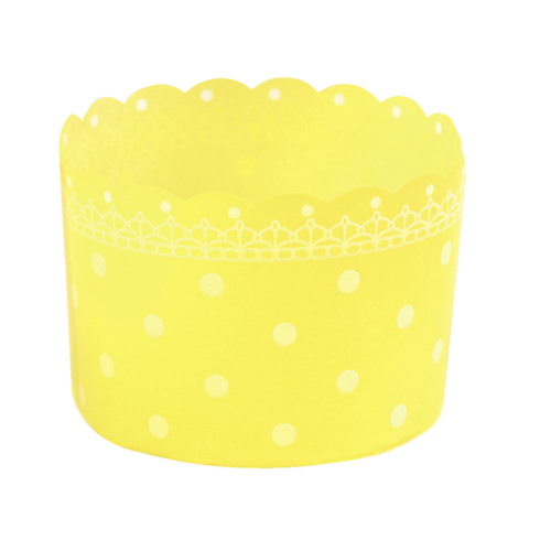 Welcome Home Brands Yellow Disposable Plastic Baking Cup