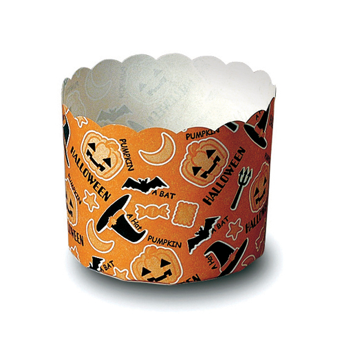 Welcome Home Brands Disposable Hat Halloween Paper Baking Cup