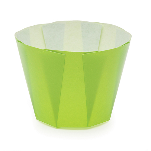 Welcome Home Brands Light Green Tulip Paper Baking Cup MB74