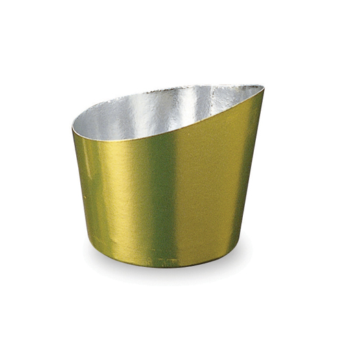 Welcome Home Brands Top Tipped Gold Disposable Paper Baking Cup - Case