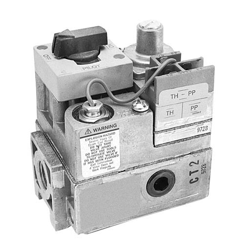 """All Points 54-1040 Type VS820A Pilot Gas Control Valve; Natural Gas; 3/4"""" Gas In / Out; 1/4"""" Pilot Out; Millivolt Operator; With LP Conversion Kit 54-1040"""