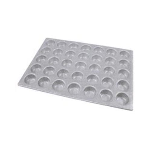"""Aluminized Steel Cupcake / Muffin Pan Glazed 35 Cups. Cup size 2-3/4"""" x 1-3/8"""" Deep. Overall Size 18"""" x 26"""