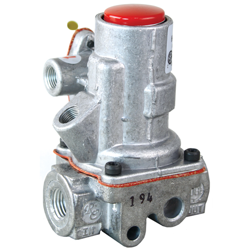 "Automatic Gas Pilot Safety Valve; 1/4"" FPT Gas In / Out; 1/8"" FPT Pilot In / Out 46-1592"