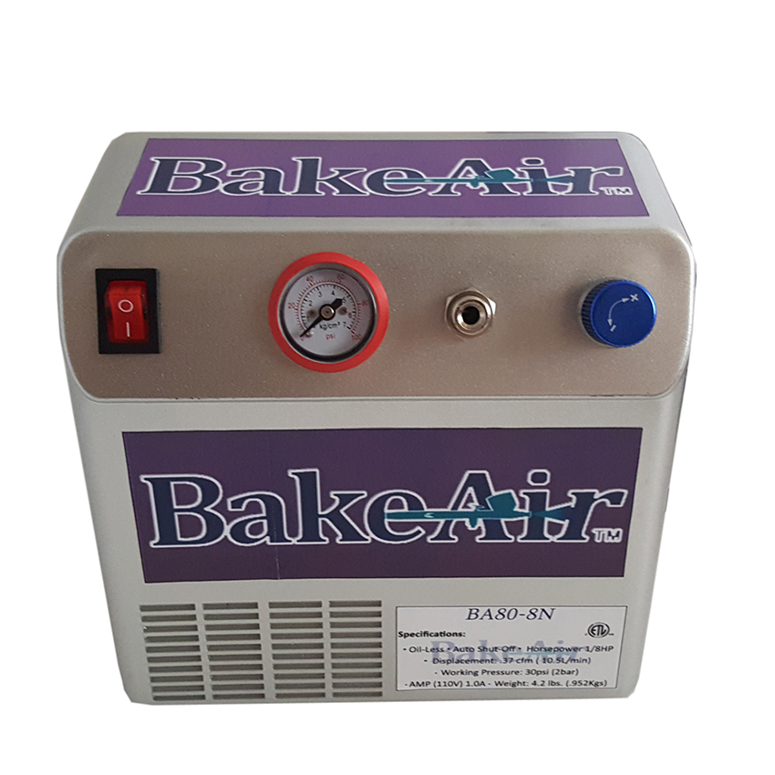 Badger Air-Brush Co. BA80-8N Bake Air Compressor 80-8N