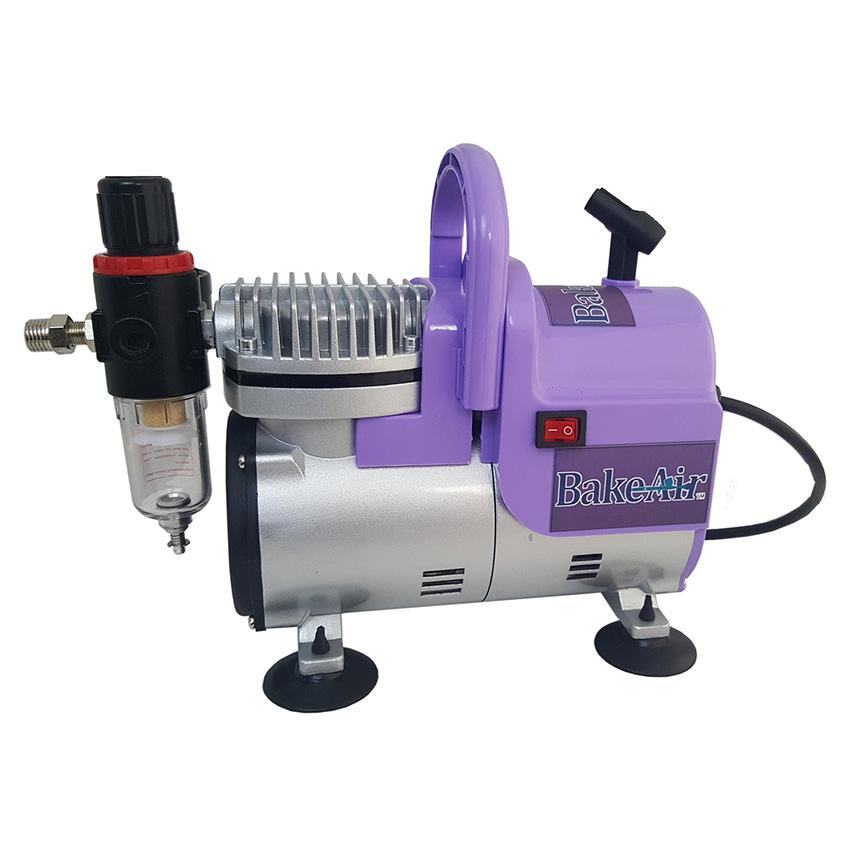 Badger Air-Brush Co. BakeAir TC908P Aspire Compressor, Purple TC908P