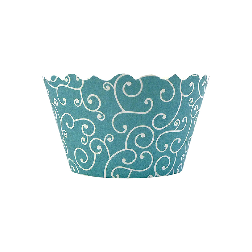 Bella Cupcake Couture Olivia Sea Blue MINI Wrapper MINIOLIVIASEA_BLUE-PK18