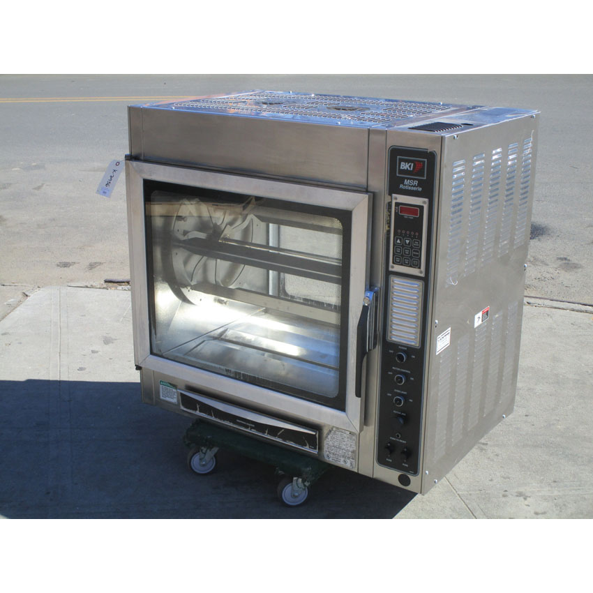 BKI Electric Rotisserie Oven Model MSR, Very Good Condition MSR