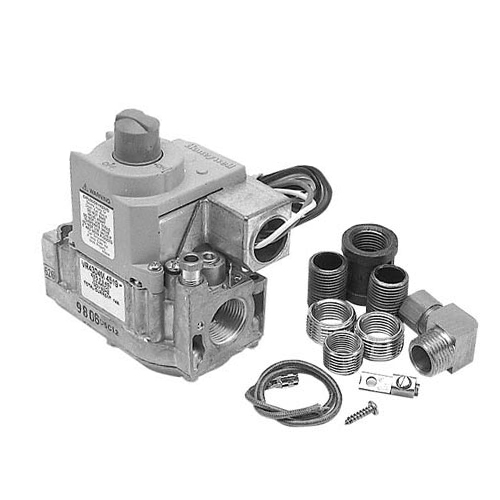 "Blodgett OEM # 30218, Gas Safety Valve; Natural Gas; 1/2"" Gas In / Out; With LP Conversion Kit 30218"