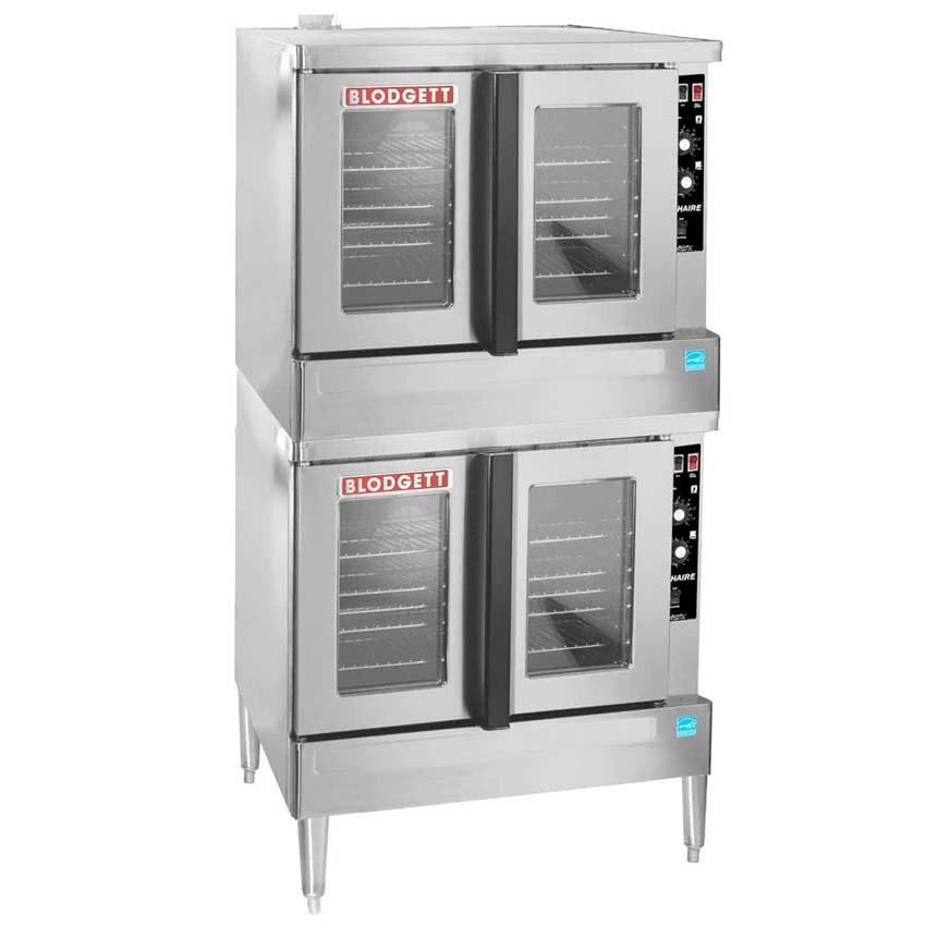 Outstanding Blodgett Zephaire Es Natural Gas Double Deck Full Size Bakery Depth Convection Oven Product Photo