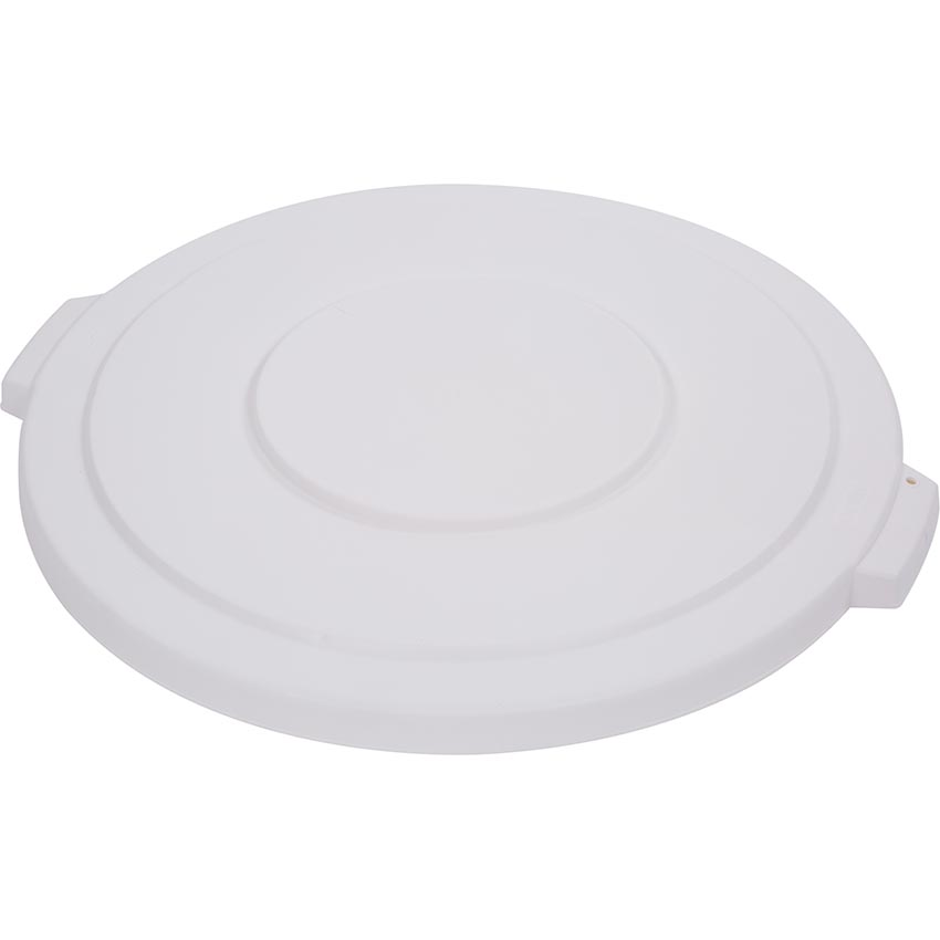 Carlisle 3410 Lid for Bronco Round Waste Container - White - 10 Gallon 34101102