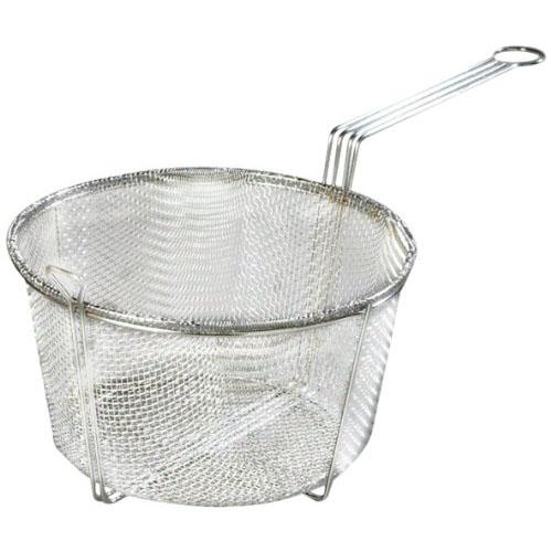 """Carlisle 601003 Mesh Fryer Basket 13-1/2"""", Chrome-Plated Nickel Steel 601003"""