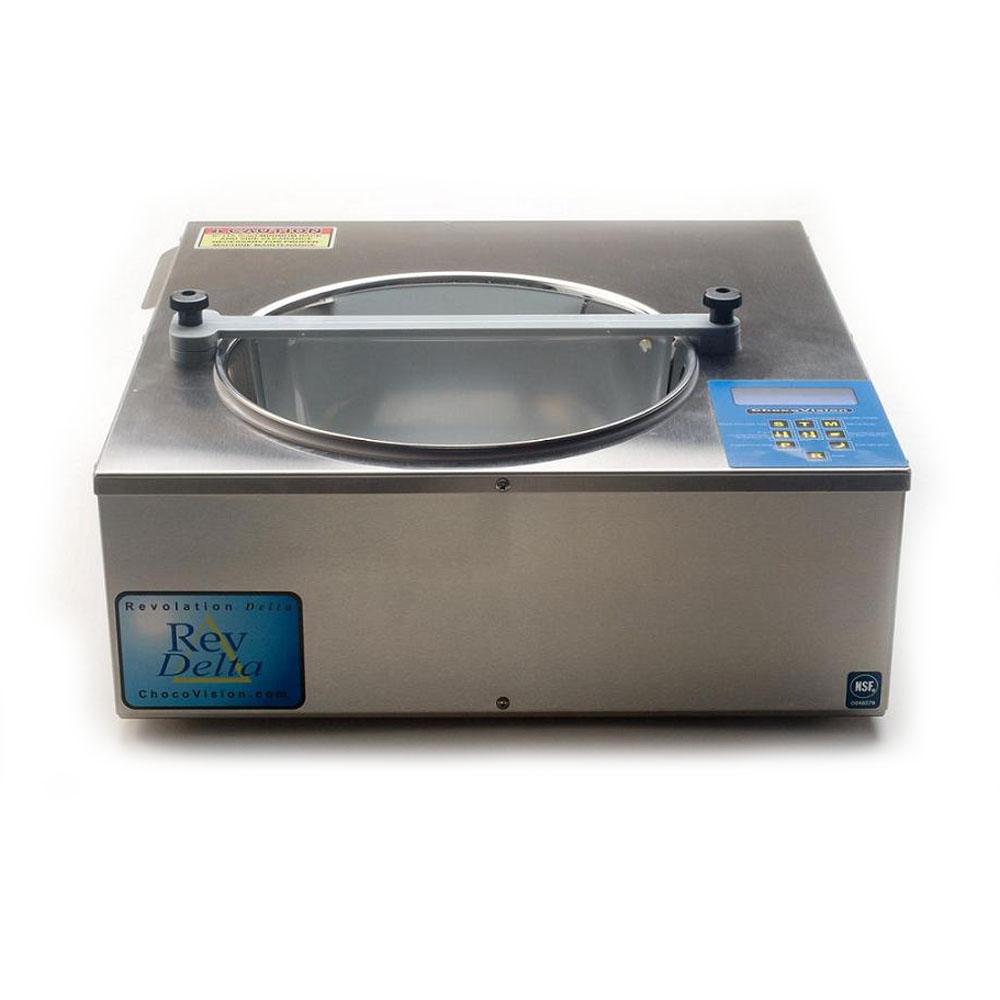 Chocovision Revolation Delta Commercial Chocolate Tempering Machine. 10lb. Capacity DELTA