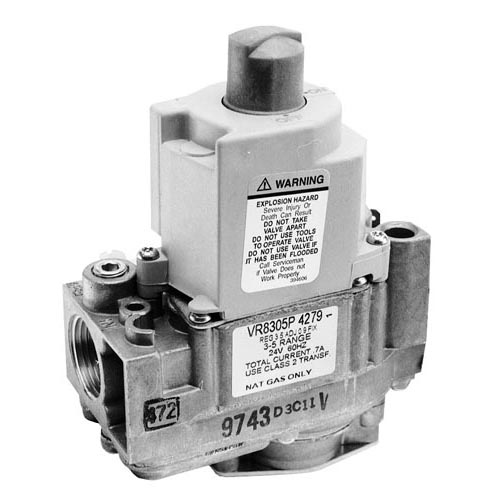 "Cleveland OEM # 22230, Type VR8305P Gas Safety Valve; Natural Gas; 3/4"" Gas In / Out; 1/4"" Pilot Out 54-1062"
