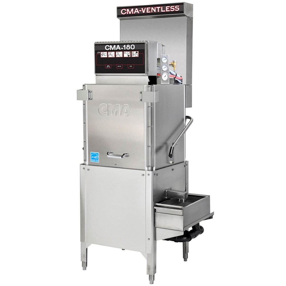 Cma-Dishmachines-Single-Rack-High-Temperature-Ventless Product Image 214