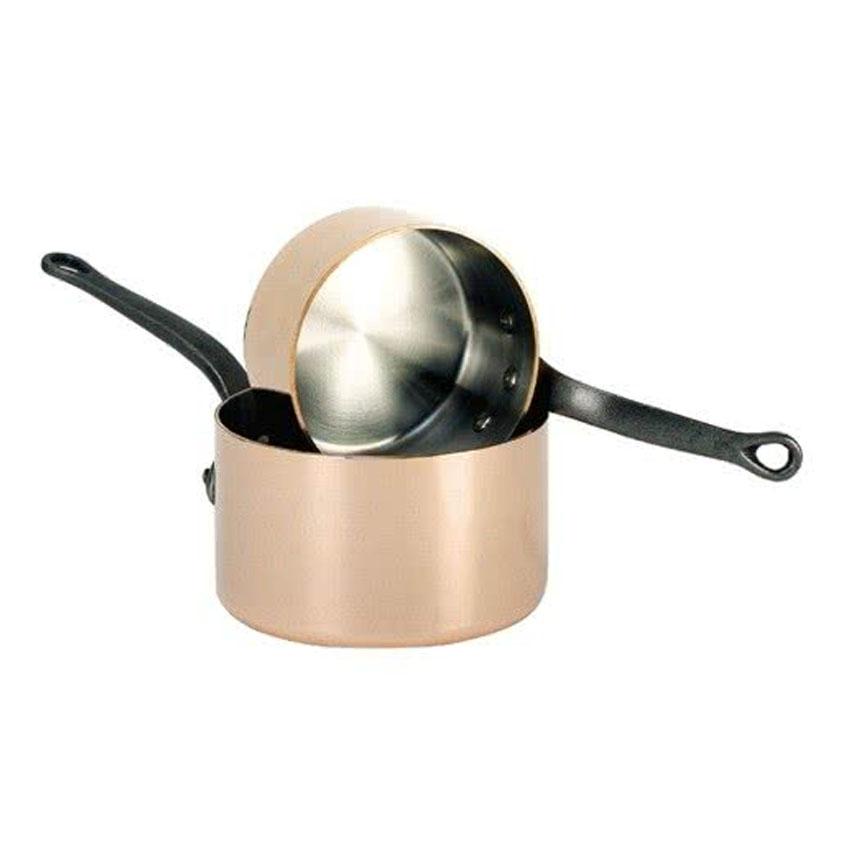 Debuyer-Inocuivre-Copper-Sauce-Pan-Size-Quart Product Image 2672