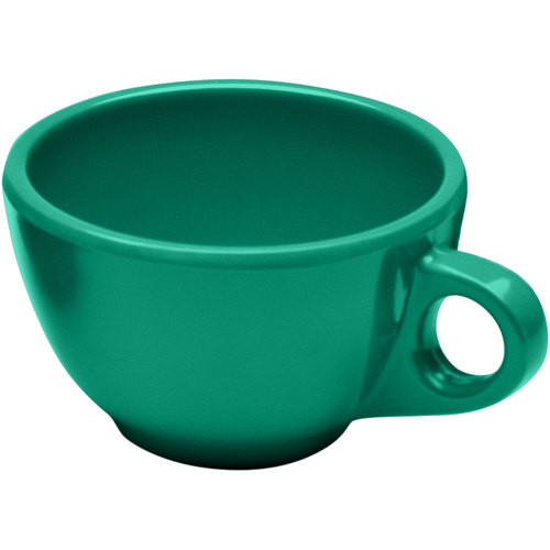 Elite Global Solutions DMC Rio Autumn Green 8 oz. Melamine Coffee Cup DMC-AG