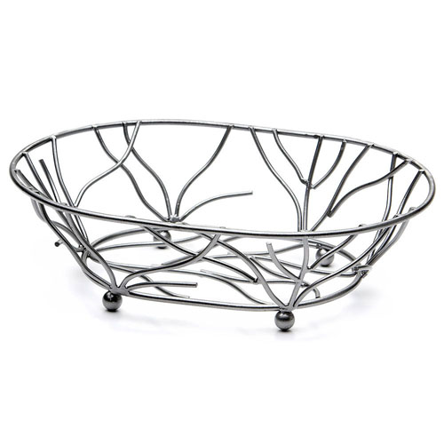 Elite-Global-Solutions-Wb-Gunmetal-Oval-Metal-Wire-Basket Product Image 3417