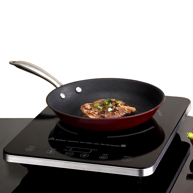 Eurodib C1813 Induction Cooktop with Cast Iron Frypan C18-13