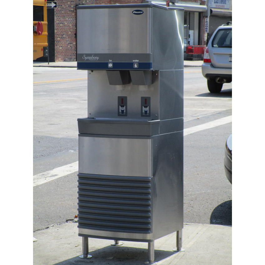 Follett-Nugget-Ice-Maker-Air-Cooled-Condenser-Lbs-Great-Condition Product Image 725