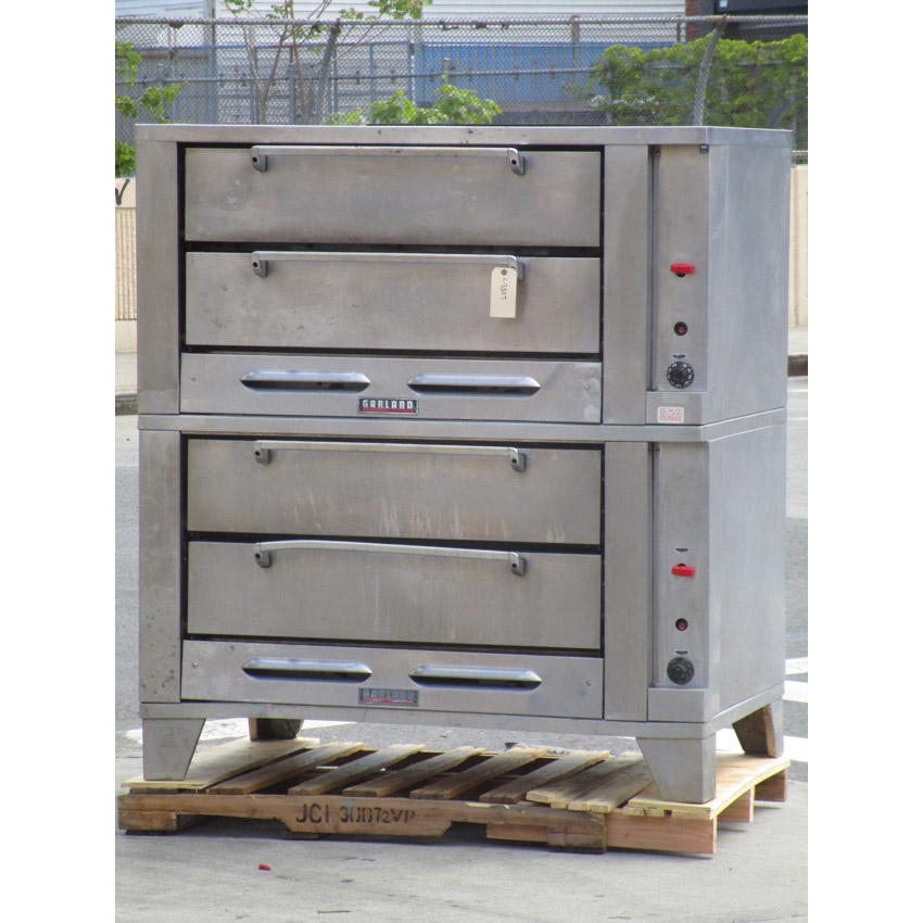 Garland-Deck-Oven-Natrual-Gas-Excellent-Condition Product Image 446