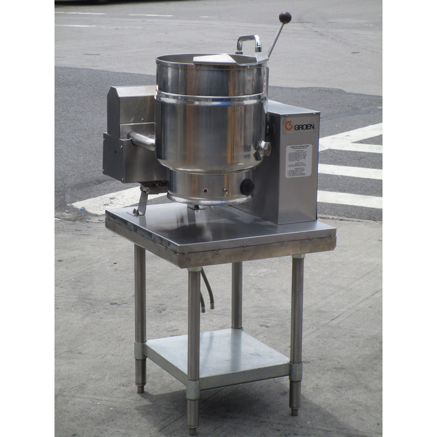 Groen-Quart-Table-Top-Kettle-Model-Very-Good-Condition Product Image 839