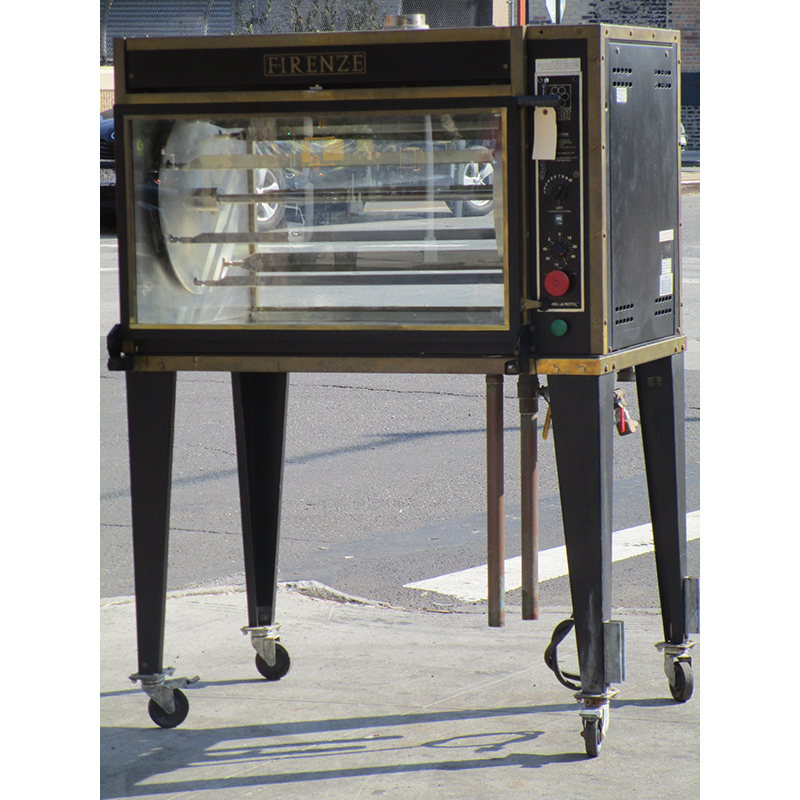 Hardt-Firenze-Gas-Rotisserie-Great-Condition Product Image 490