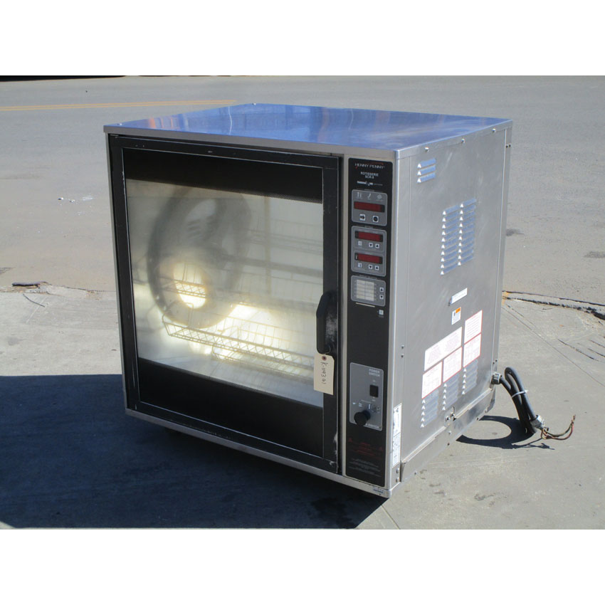 Henny Penny SCR-8 Electric Rotisserie Oven, Great Condition SCR-8